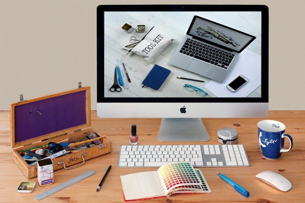 communication, workplace, imac